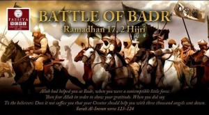 The Battle of Badr Sahabakkal Warriors Day